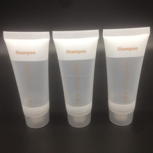 Hotel use cosmetic tubes shampoo packaging/Round cosmetic tubes packaging/Amenities Set Tube