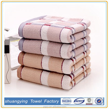 promotions 100% cotton jacquard hand towels for restaurants