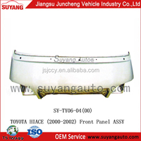 High Quality Steel Front Panel Assy Japanese Used Toyota Hiace Van Body Parts