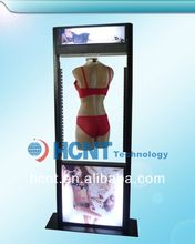 New Invention ! magnetic levitation led display rack for underwear, 2012 latest design bra