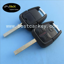 Hot Sale 3 buttons remote key cover for key auto for opel key cover with light