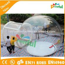 Cúpula geodésica tenda inflável tenda dome transparente nova bolha tenda