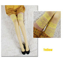 Knee High For Girl OEM Knee High More Popular Stockings High Quality Stocking Stockings With LaceColorful Knee High Hot Sales F