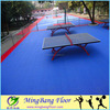 Non-Expansion Outdoor multi table tennis sport court tiles