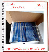 34 loops for 45 pages notebook binding double coil