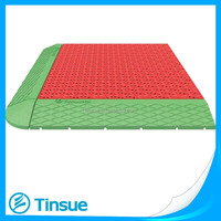 Outdoor PP interlocking plastic floor tile for promotion