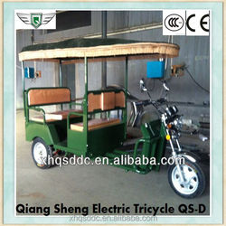 2015 popular bajaj style powered electric tricycle Qiangsheng manufactory supply for sale