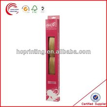 Custom hair extention packaging box