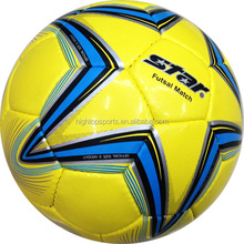 High quality hand sewing laminated soccer ball for training and match