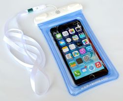 Underwater IPX8 Mobile Phone Bags Diving Dry PVC Waterproof Watertight Cases Floating Pouch