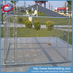 chain link dog house lowes / cheap wooden dog cages / dog kennels for sale
