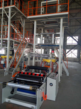 Saving labor cost!!! HIGH SPEED BLOWN FILM MACHINE FOR HDPE/LDPE MATERIAL 100KG/H