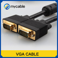 Alibaba China high Definition he Male to Male Vga to Vga Cable 3+3/3+6/3+9