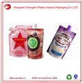 Réutilisable bec liquide de poche savon emballage