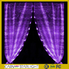 2015 hot fiber optics fabric decoration wedding waterfal light led curtain