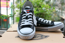 Latest men's flat vulcanized shoes with canvas casual shoes