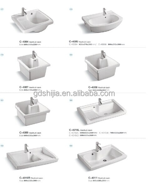 c4008 en c ramique bac lessive pour le lavage des v tements lavabo de salle de bain id de. Black Bedroom Furniture Sets. Home Design Ideas