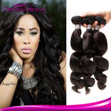 Expressions grade 8a virgin Brazlian hair loose wave hair for braiding