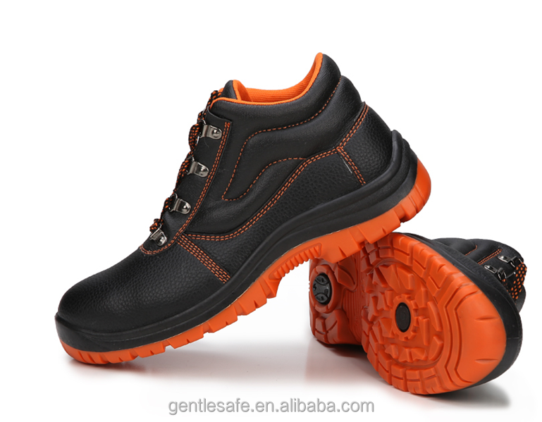 2015 cheap industrial steel toe work shoes safety