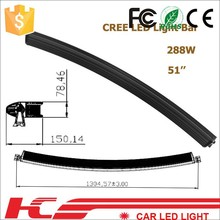 NEW style Super Bright Spot Flood High power 288W used police light bars