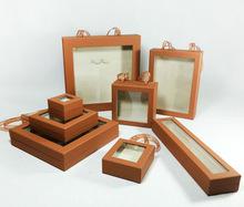 2015 CHARMING HIGH QUALITY HOT SALE CUSTOMIZED LOGO PRINTED CHEAP FASHION LUXURY PAPER CARDBOARD JEWELLERY BOX WHOLESALE