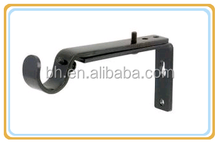 Extendable Metal Iron Curtain Rod Bracket For Window Decoration