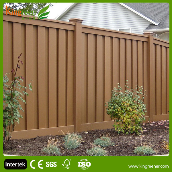 Composite Privacy Designs : Wood plastic composite deck privacy screen with decking