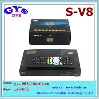 Satellite Receiver S-V8 /Openbox V8S /original v8 tv box