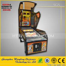 Luxury street basketball arcade game machine, Indoor adult arcade hoops cabinet basketball game