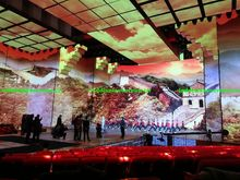 P16 indoor video full color SMD led screen led sign xxx moves