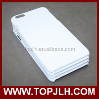 Blank Hard White 3D Film Sublimation phone case for Iphone 6