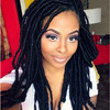 Premier 2015 hot sale human hair lace wig, kinky twist braided lace wig, supply african braided wig