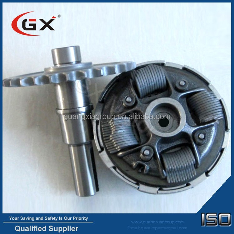 Go Kart Spare Parts 1/2 Reduction Gearbox Karting Clutch Set Gx160 Gx200 Gx270 With Pto Shaft ...