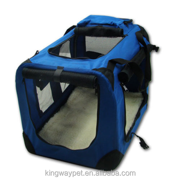Lightweight fabric large dog carriers