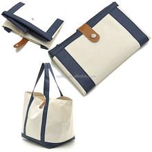 Hot sale nylon foldable shopping bag