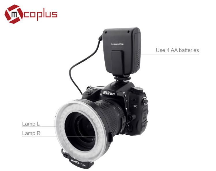 Mcoplus LED MRF32 camera led ring light