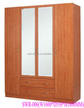 SWR-005bedroom wall Wardrobe design
