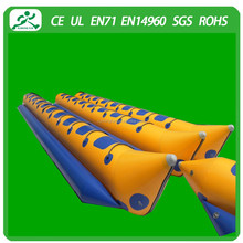 Single tube Inflatable double Banana boat(10 seats)