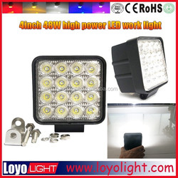 Promotion Cre e led chip 48W 4inch LED working light lamp , led work light, LED work lamp for truck 4X4 SUV vehicles