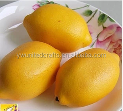 Cheap Wholesale Fake Fruit Artificial Lemon for Wedding&Party Decorative - Factory-directly