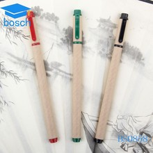 Eco-friendly recycle paper roller pen/cheap ballpoint pen for promotional