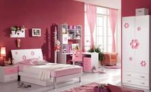 Danxueya- children lovely single size queen size cute deisgn kids bed girls pink bedroom furniture set