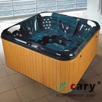 new design large garden massage bath tub
