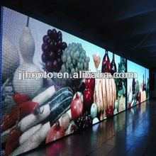 2012 Fashion Stage viewing angle 1R1G1B ph16 outdoor full color led screen wall led gas price sign