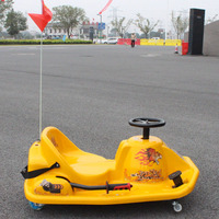 2015 New Crazy Cart 360 Degree Turn Around Drift Car Electric Motor Go Kart