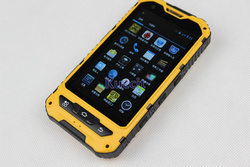 original outdoor phone MTK6572 Dual Core Android Gorilla glass A8 IP68 rugged Waterproof phone Senior shockproof 3G GPS Russian