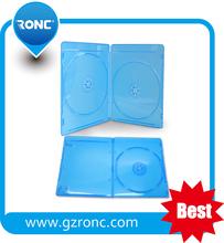 Guangzhou RONC Wholesale Blu ray Case,Blu ray CD DVD Storage CASE Single/ Double