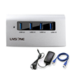 4 ports combo usb hub 3.0 card reader + TF / SD Card Reader 2 in 1
