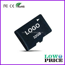 Wholesale cheap cost 1 dollar memory card 32gb class 10 with Customized logo Promotional
