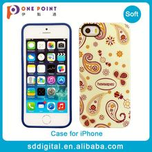 New arrival fashion tpu case cover for iphone 5